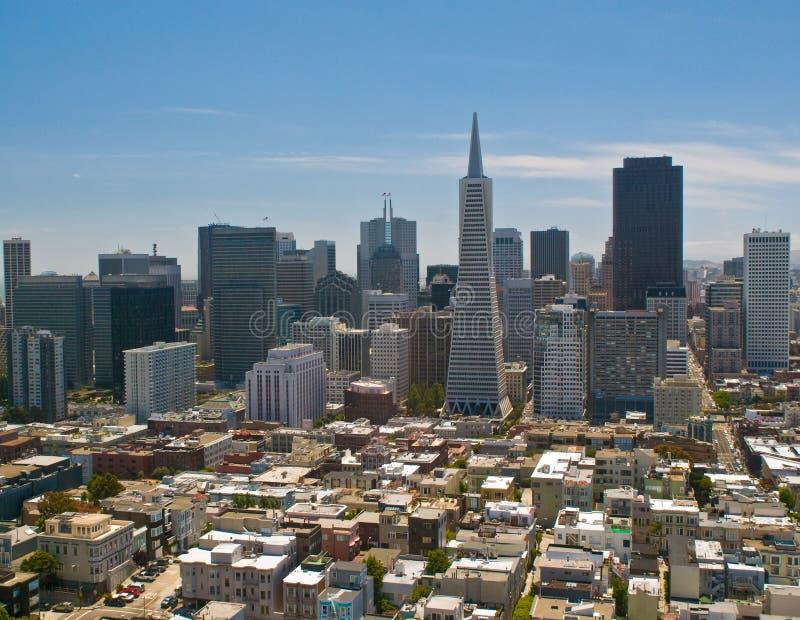 Panorama de San Francisco image libre de droits