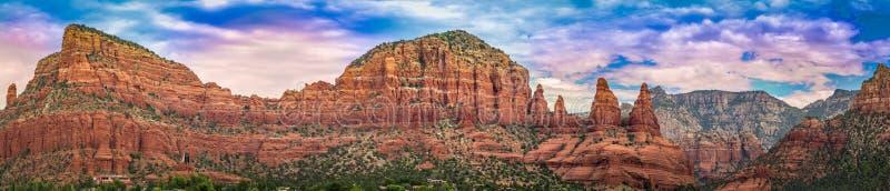 Panorama de Sedona o Arizona foto de stock royalty free