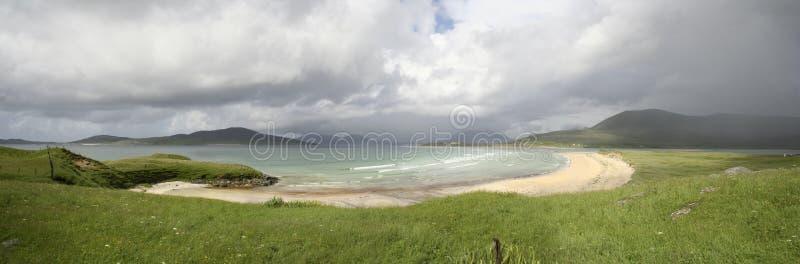 Panorama De Seilebost Fotografía de archivo