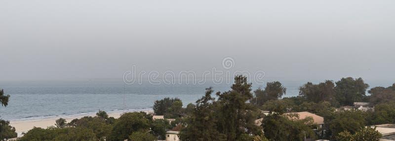 Panorama de Serrekunda imagenes de archivo
