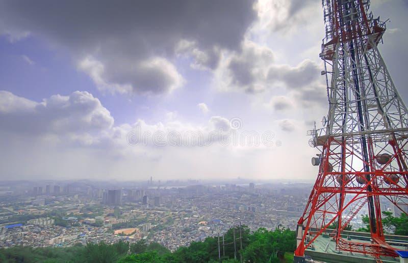 Panorama de Seul fotografía de archivo