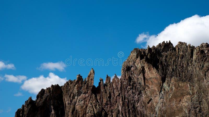 Panorama de Smith Rock State Park images libres de droits