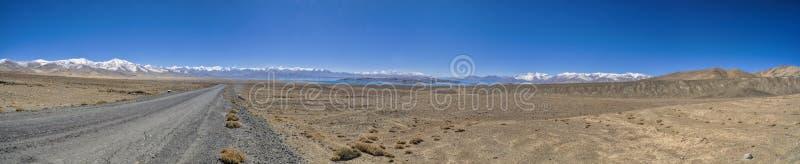 Panorama de Tajiquistão fotos de stock royalty free