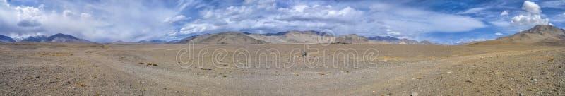 Panorama de Tajiquistão imagens de stock