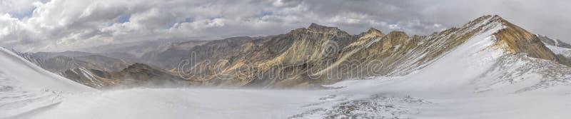 Panorama de Tayikistán foto de archivo libre de regalías