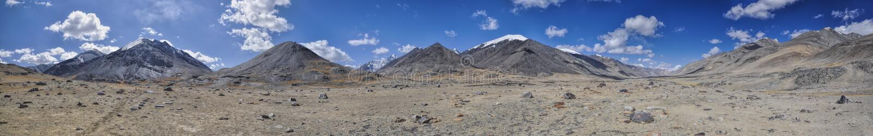 Panorama de Tayikistán imagenes de archivo