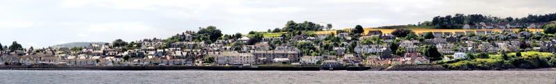 Panorama de Tayport fotografia de stock
