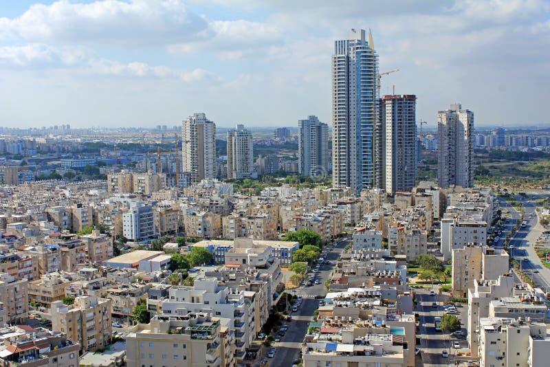 Panorama de Tel Aviv imagen de archivo libre de regalías