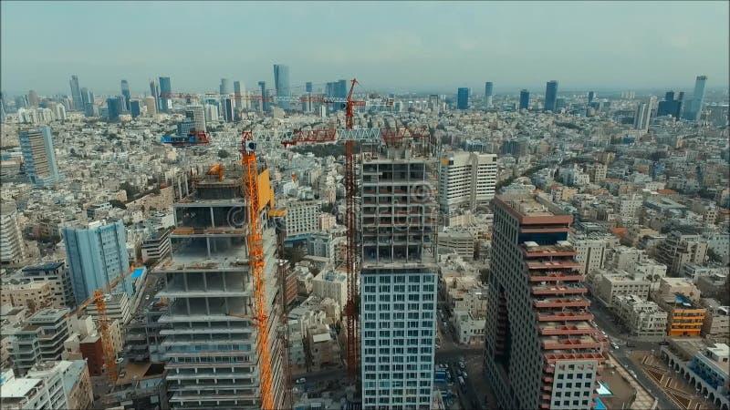 Panorama de Tel Aviv banque de vidéos