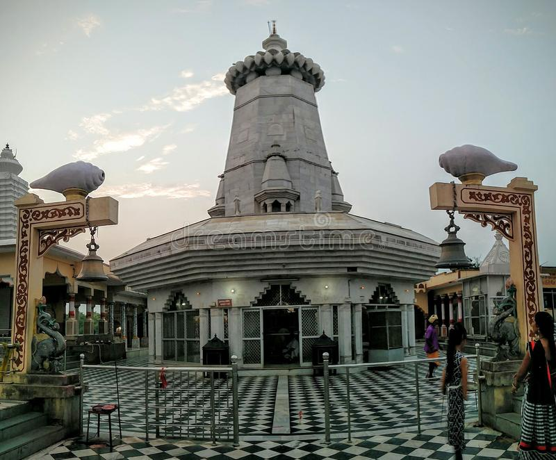 Panorama de temple de Kundeshwar photo libre de droits