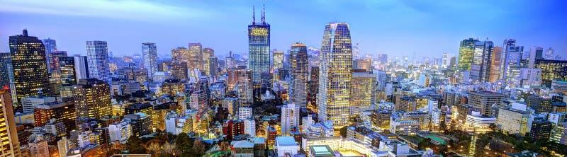 Panorama de Tokyo images stock
