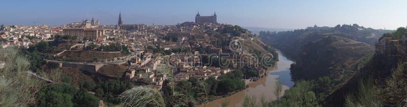 Panorama de Toledo fotografia de stock