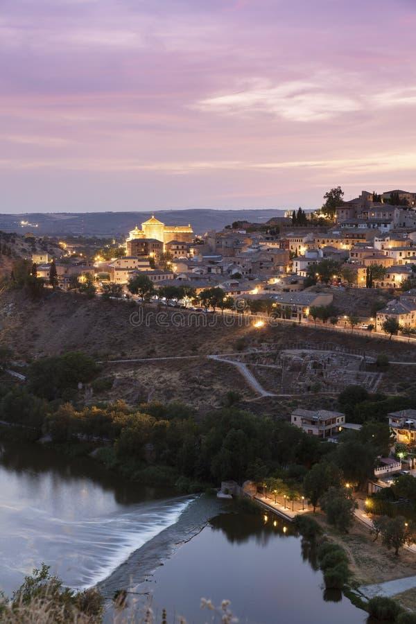 Panorama de Toledo fotografia de stock royalty free