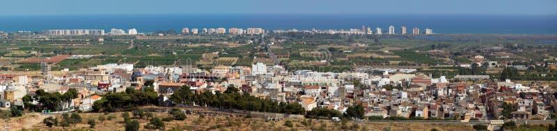 Panorama de Torreblanca photos libres de droits