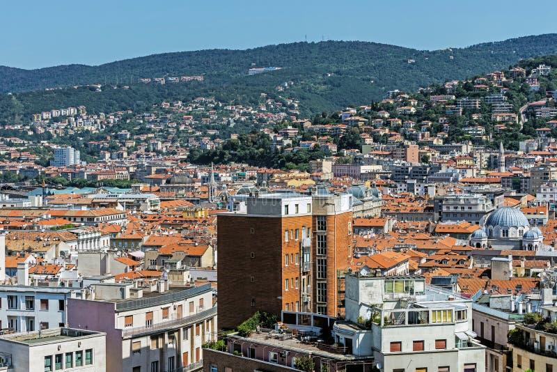 Panorama de Trieste photos stock