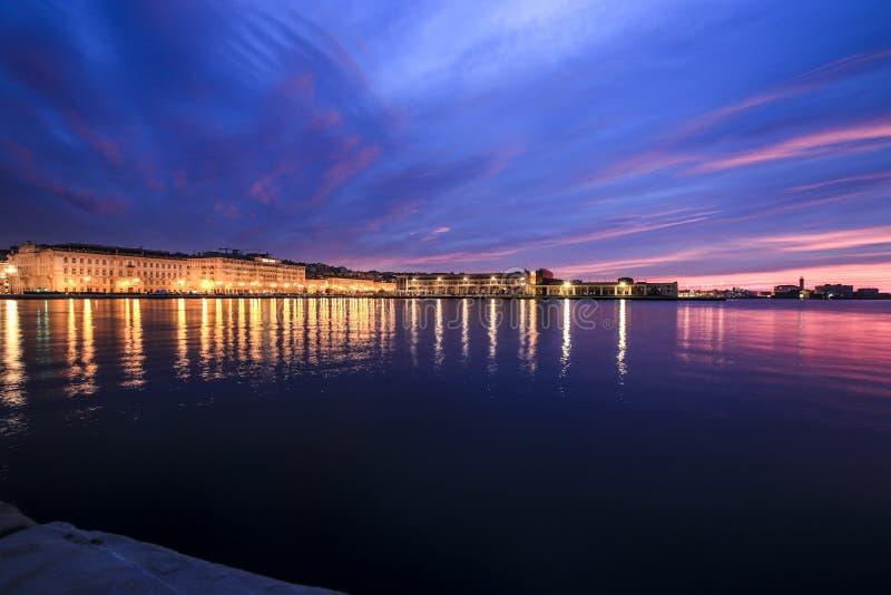 Panorama de Trieste photographie stock