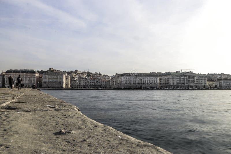 Panorama de Trieste photo libre de droits