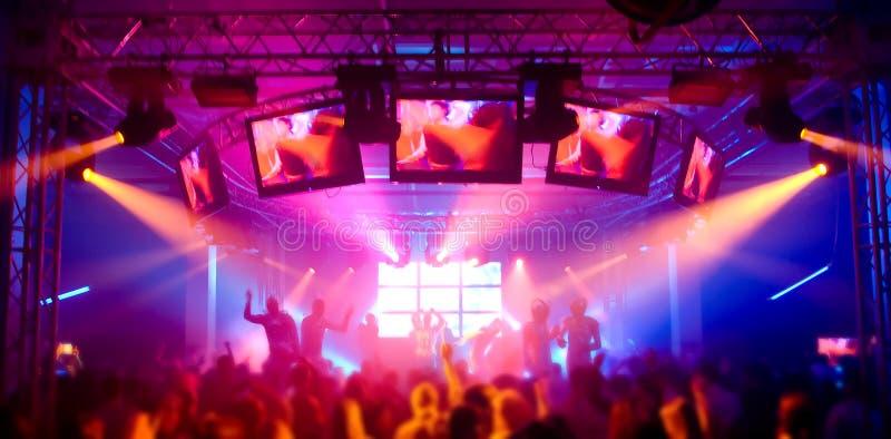 Panorama de un festival de música fotos de archivo libres de regalías