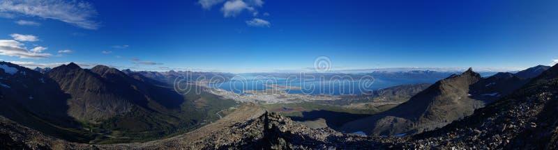 Panorama de Ushuaia imagen de archivo libre de regalías