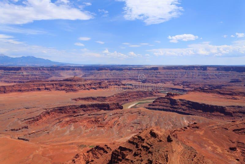 Panorama de Utah Barranco del río Colorado imágenes de archivo libres de regalías