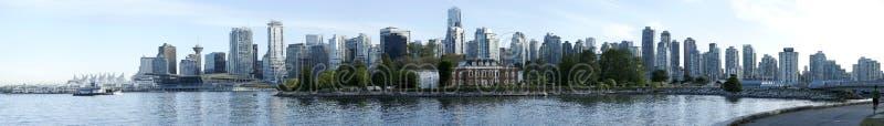 Panorama de Vancouver photos libres de droits