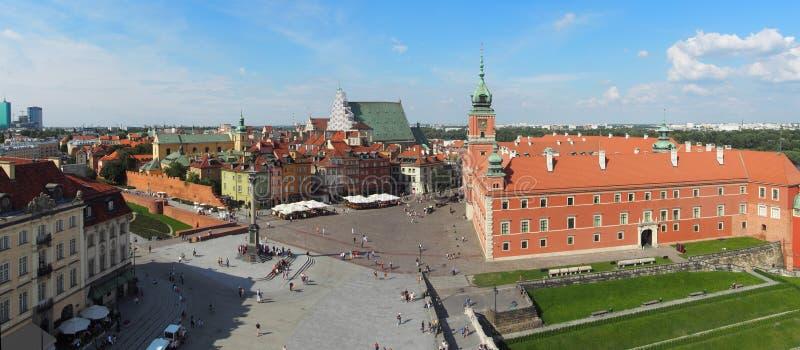Panorama de Varsóvia fotografia de stock royalty free
