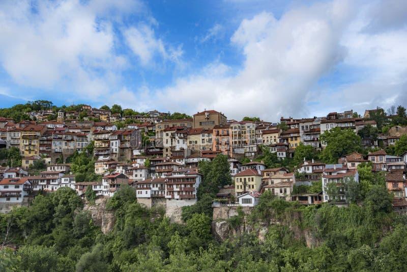 Panorama de Veliko Turnovo foto de archivo libre de regalías