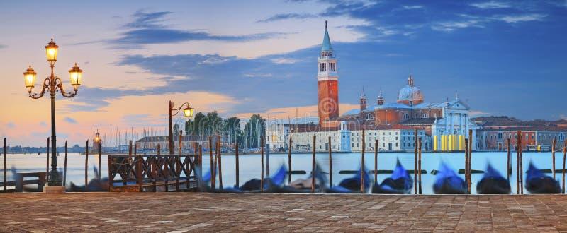 Panorama de Veneza fotografia de stock royalty free
