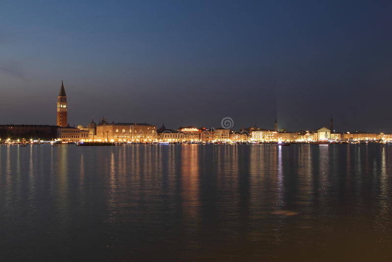 Panorama de Veneza imagem de stock