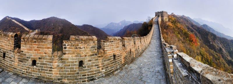 Panorama de Vert do Grande Muralha 9 da NC fotos de stock