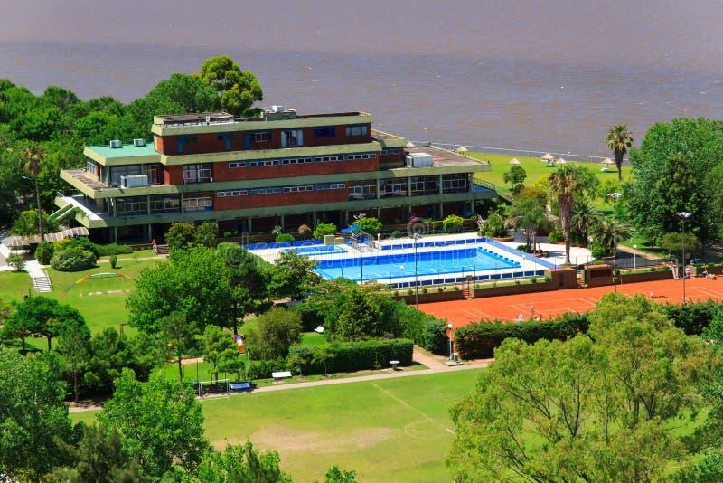 Panorama de Vicente Lopez imagen de archivo