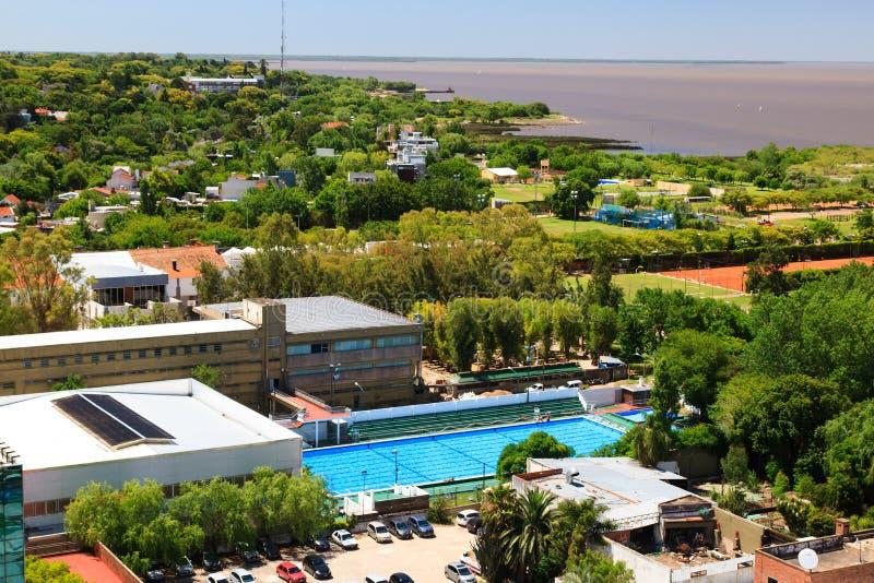 Panorama de Vicente Lopez foto de archivo