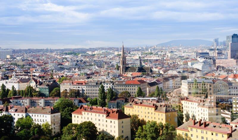 Panorama de Viena fotografía de archivo libre de regalías