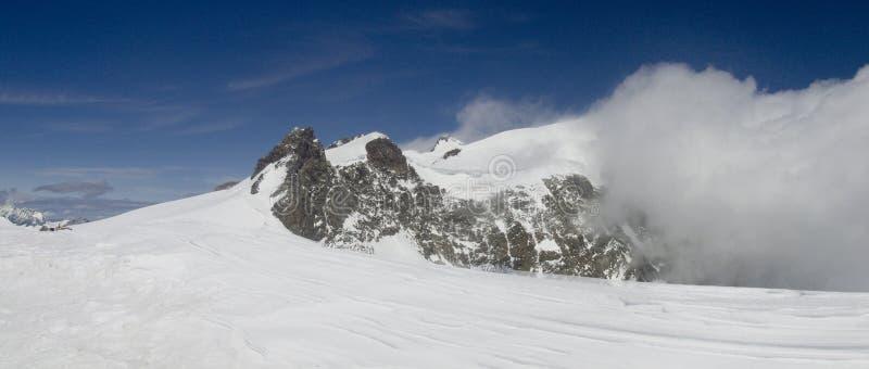 Panorama de Vincent de l'hiver premier photo libre de droits