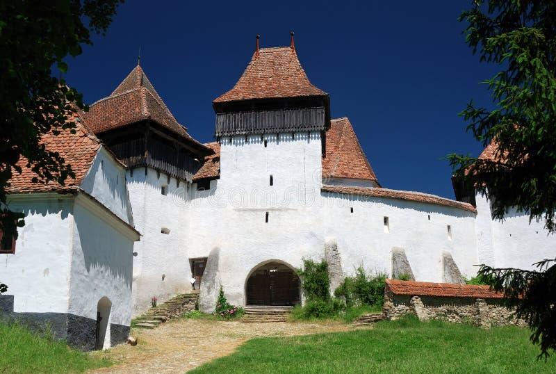 Panorama de Viscri, Transylvanie, Roumanie photo libre de droits