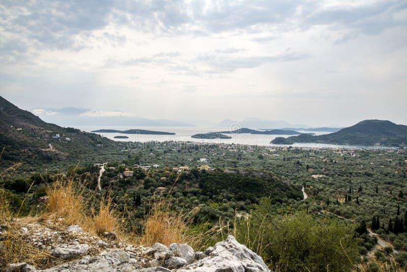 Panorama de Vlicho image libre de droits