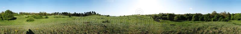 Panorama de zone photos libres de droits