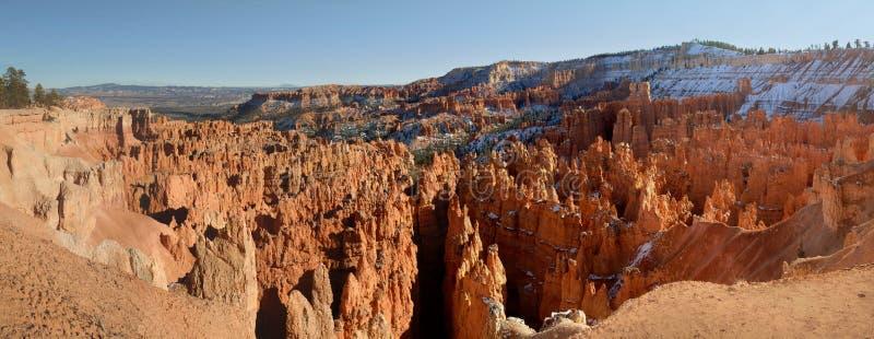 Panorama del canyon di Bryce immagini stock