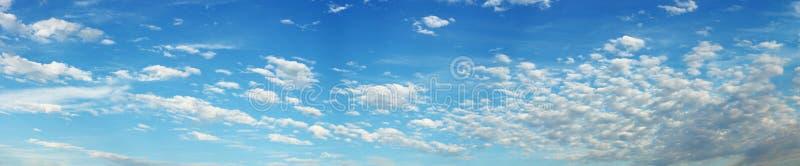 Panorama del cielo fotos de archivo