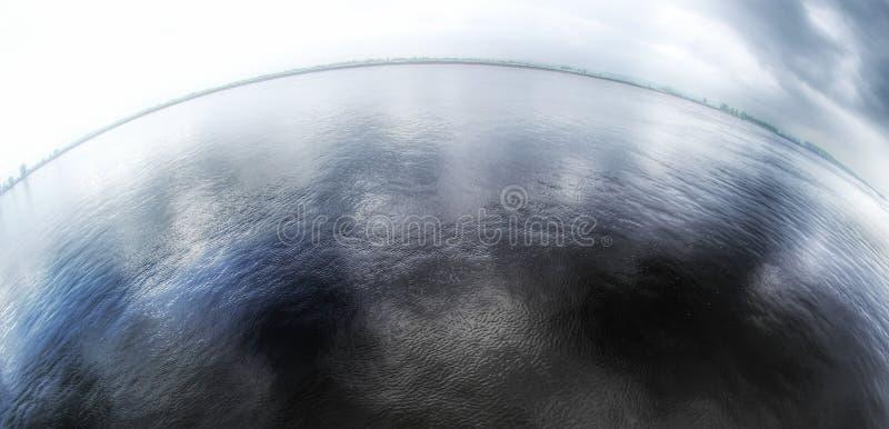 panorama del fisheye fotografie stock