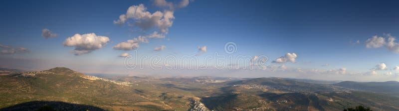 Panorama del Galilee fotografie stock libere da diritti