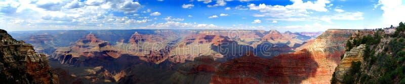 Panorama del grande canyon immagini stock libere da diritti
