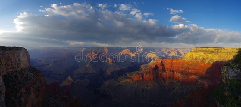 Panorama del grande canyon fotografia stock