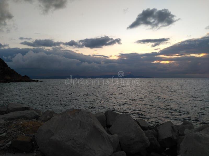 Panorama del mar fotos de archivo libres de regalías