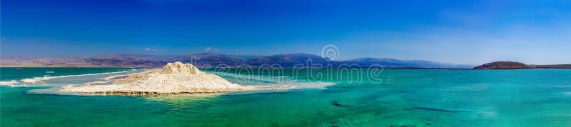 Panorama del mar Morto fotografia stock