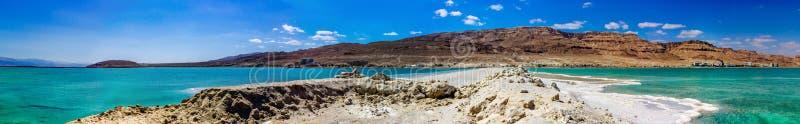 Panorama del mar muerto imagen de archivo libre de regalías