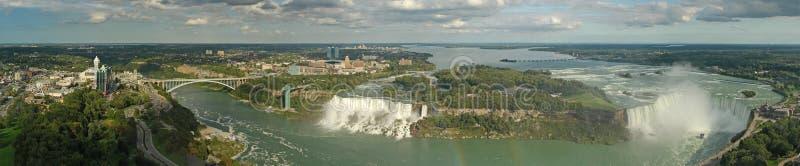 Panorama del Niagara Falls fotografia stock libera da diritti