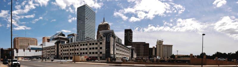 Panorama del Oklahoma City fotos de archivo