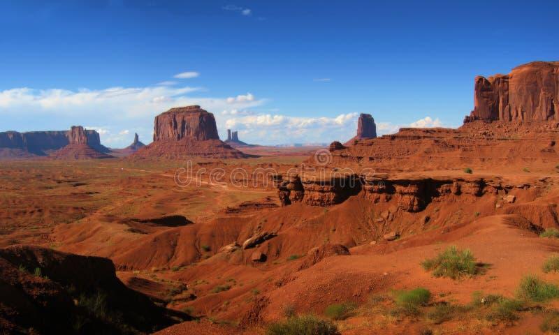 Panorama del paisaje imagen de archivo libre de regalías