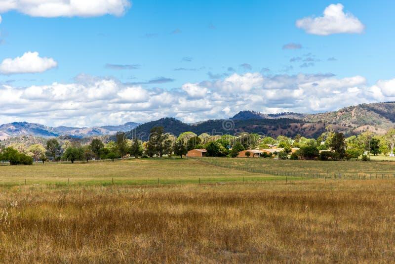 Panorama del paisaje de la montaña, belleza de la naturaleza imagen de archivo libre de regalías